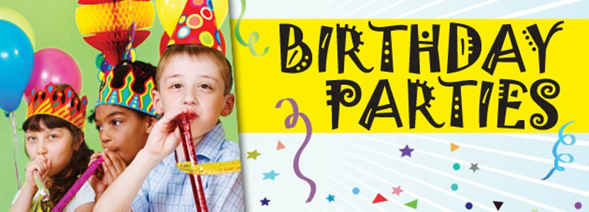 Birthday Parties Dundee Township Park District - Childrens birthday party ideas dundee