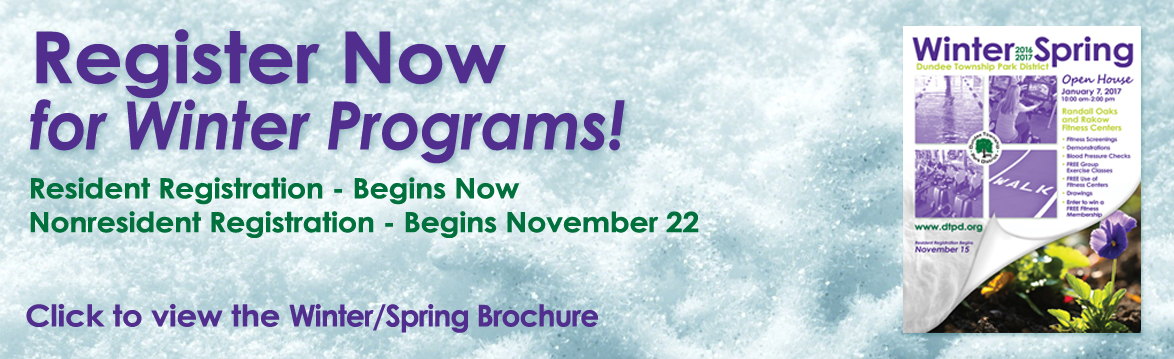 Winter Program Registration