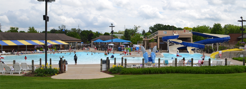 Dolphin cove family aquatic center dundee township park - Dundee swimming pool opening times ...