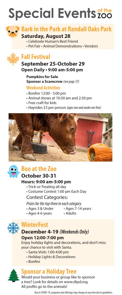 Fall Special Events